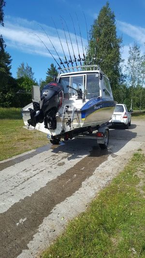 Sea Adventures Fishing Boat Boat Transportation Mode Of Transportation Land Vehicle Plant Day Motor Vehicle Tree