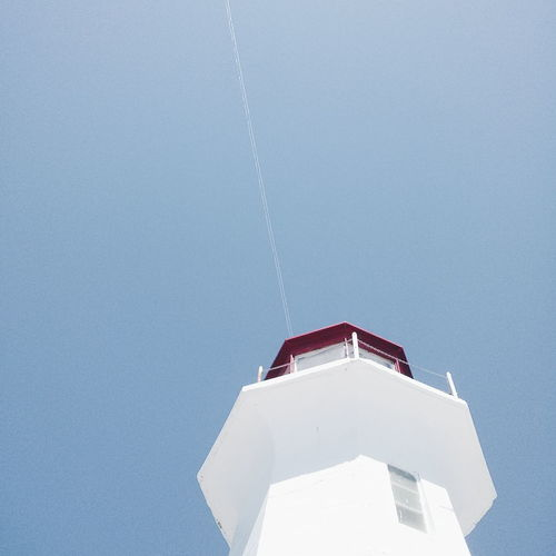 Low angle view of a lighthouse