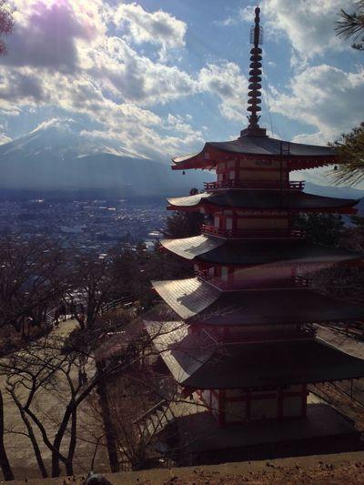 富士山 新倉富士浅間神社 山梨 World Heritage