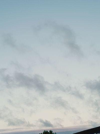 The sky last night
