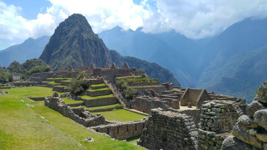 Machu Picchu in the morning: beautiful! Ancient Mountain Travel Destinations Tourism History Ancient Civilization Archaeology Old Ruin Travel Mountain Range Scenics Landscape Nature Cloud - Sky Outdoors Terraced Field Architecture Beauty Beauty In Nature Day Machu Picchu No People Peru Nature Nofilter