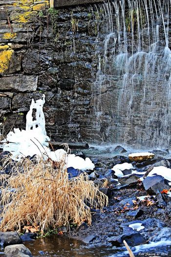 Waterfall Cold Winter ❄⛄ Ice Out And About Out Walking Nature Photography Outdoor Photography Outdoors Vernon Connecticut