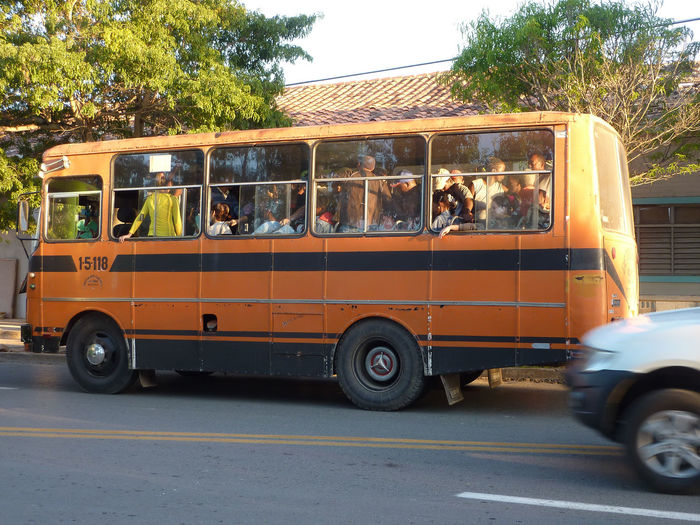 Happy, they got a ride Bus Crowded Bus Cuba Cuba Collection Day Large Group Of People Outdoors People And Places People Photography Travelling Photography Tree