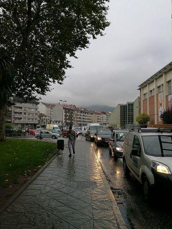 Dia gris.City Life Rain Raining Rainy Days☔ Streetphotography Huawei P 9