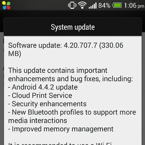 Kitkat HTC 1 One 801e Android 4 .4.2 Update Latest Advance Happy Instamobile