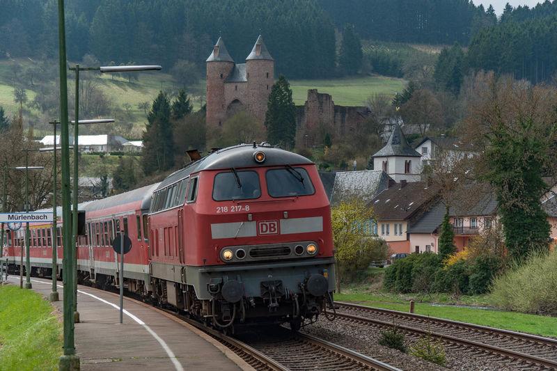 218 Deutsche Bahn Eifel Germany Eisenbahn Mürlenbach Railway