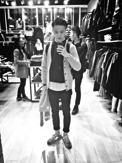 That's Me Hi! Streetphoto_bw Shopping Mirror