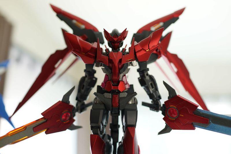 Toys Toyphotography Close-up Gundam Gundam Model Standing Exia Gundam00 Gundam Build Fighter Exia Dark Matter