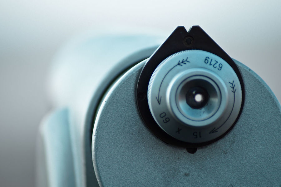 Black Color Blue Wave Camera - Photographic Equipment Close-up Coin-operated Binoculars Day Focus On Foreground Lens - Optical Instrument No People Part Of Photography Themes Selective Focus Showing Imperfection Up Close Street Photography