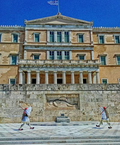 Athens Greece Syntagma Square Visit Greece I Promote Greece Parliament Democracy Presidential Guard