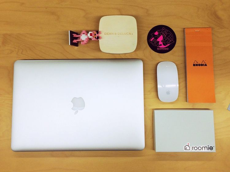 MacBookPro Rhodia Pinkpanther Magicmouse Deananddeluca