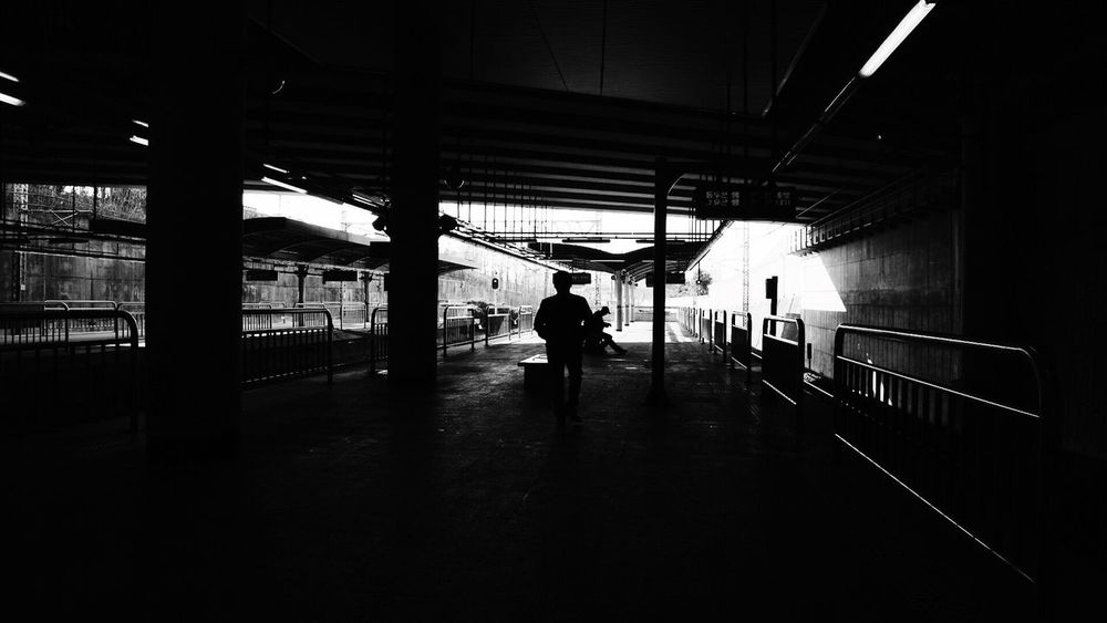 Subway in Seoul South Korea Welcome To Black Blackandwhite Black & White Black Black And White Photography Transportation B&w Black And White Black And White Collection  Blackandwhite Photography Silhouette