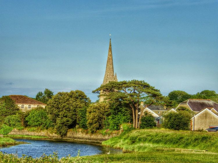 Wales Photography Taking Photos Check This Out Countryside Riverside Church Churchtower Oldtown Old Buildings