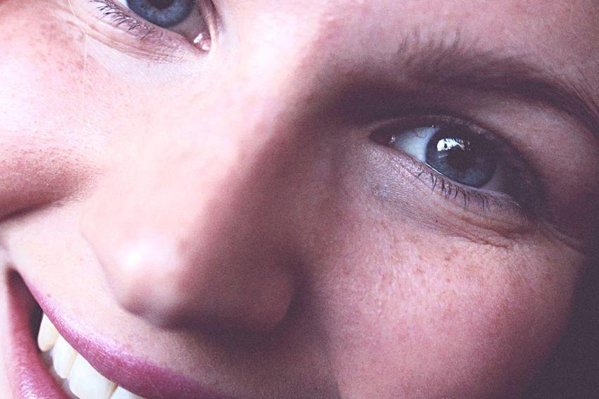 Girl Face Eye Smile