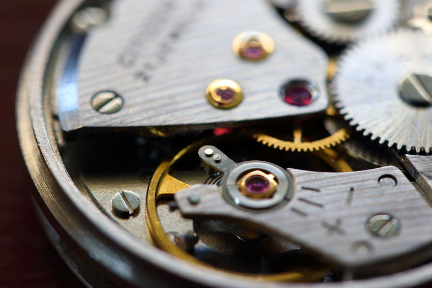 Accuracy Backgrounds Clock Clockworks Close-up Communication Complexity Connection Equipment Gear High Angle View Indoors  Machine Part Machinery Metal No People Old Pocket Watch Selective Focus Shape Still Life Technology Time Wallpaper Watch