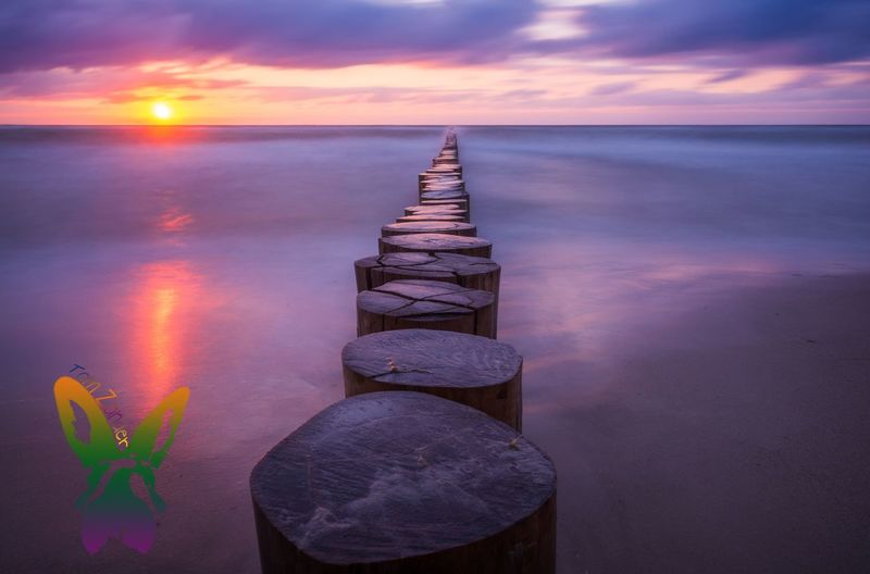 ---To---The---Sun--- Landscapes With WhiteWall Beauty In Nature Cloud - Sky Dusk Eyemphotography Horizon Horizon Over Water Idyllic Nature No People Non-urban Scene Outdoors Purple Reflection Rock Scenics - Nature Sea Seascape Sky Solid Sunset Tranquil Scene Tranquility Water Wooden Post