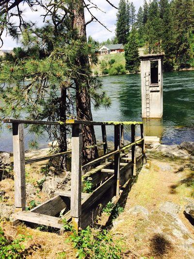 Rescue Tower Spokane River Rescue Tower