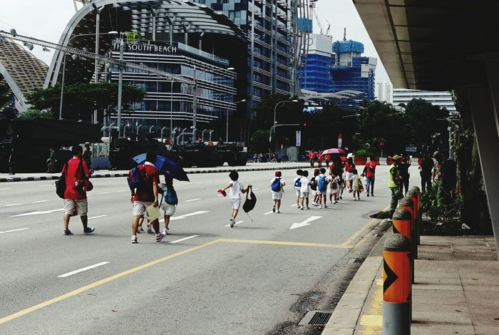 Singapore National Day Ndp2015 Sg50 On The Road