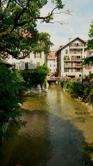 Hapiness ! Beautiful Nature City Life Canal Architecture Annecy Le Vieux Travel Destinations