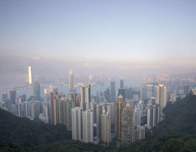 Asian Cities Colour Your Horizn Hk Hong Kong Hong Kong City Modern Architecture Skyscrapers Architecture Building Exterior Built Structure China City Cityscape Day Densely Built Downtown District Highrise Hong Kong Island Modern No People Outdoors Skyscraper Tall Buildings Travel Destinations Urban Skyline