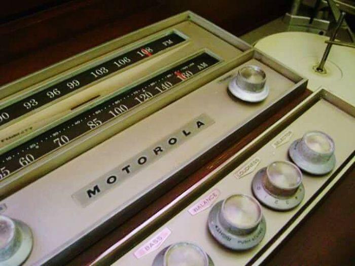 Old Motorola Motorola Radio 1960's Stereophonics Recordplayer