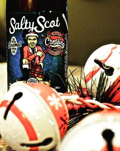 Day5 Craftcrossingcalendar Craftbeer Saltyscot Adultadventcalendar Christmas2015 Christmas Christmasbells Parallel49brewing Parallel49 @parallel49beer