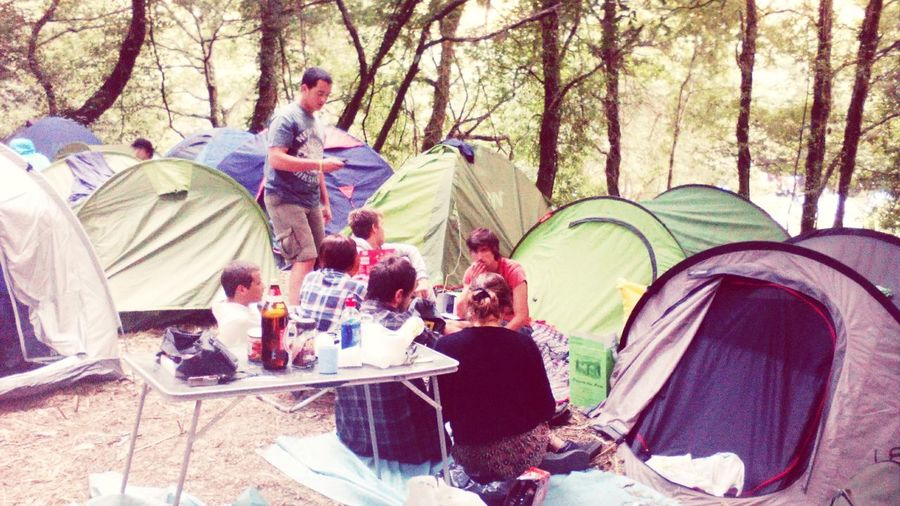 Meet my friends. Here they are at a festival in Portugal. One of my passions is camping and theirs too! Relaxing Hi! Enjoying Life Check This Out First Eyeem Photo