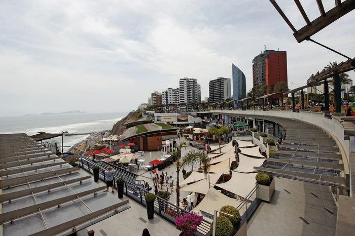 promenade Architecture City Lima Miraflores Lima Outdoors Peru Promenade Sea Shopping