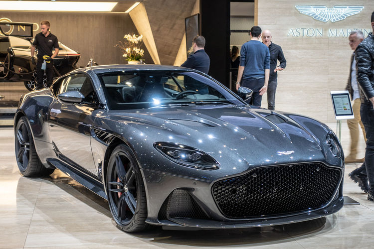 Mode Of Transportation Transportation Car Motor Vehicle Land Vehicle Incidental People Luxury Aston Martin Sportcar Exhibition Exhibit