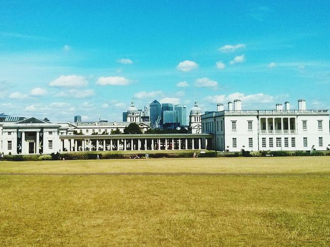 where the old meets new... Greenwich Park Old Royal Naval College Summer ☀ This Weekend Green Grass