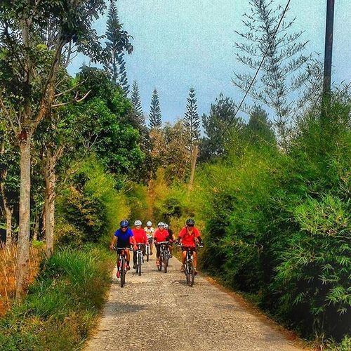 Bikers are also more respect to nature Left nothing but friendship Sefo