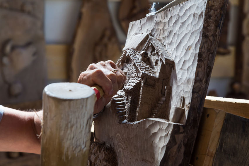 Close-up Day Drink Focus On Foreground Freshness Holding Human Body Part Human Hand One Person Outdoors People Real People Wood - Material