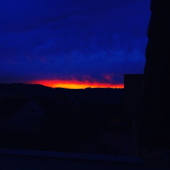 Sun Sunrise Red Orange Blue Sky Amazing First Eyeem Photo