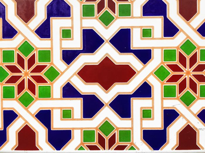 Pattern No People Design Architecture Multi Colored Built Structure Full Frame Floral Pattern Building Exterior Outdoors Focus On Foreground Abstract Close-up Shape Creativity Backgrounds Star Shape Art And Craft Geometric Shape Arts Culture And Entertainment