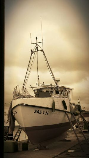 Sepia Fishing Boat Harbour View Ostsee2015 Ostsee! I Love Ostsee ❤️ The Places I've Been Today Sassnitz Monochrome Boat Life