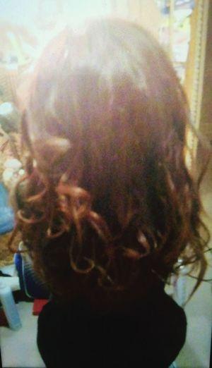 Сделала причёску