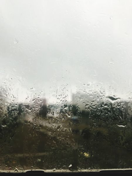 Made With IPhone 7 Wet Glass - Material Window Drop Transparent Rain Water No People Full Frame Nature Indoors  Glass Rainy Season Day Close-up Backgrounds RainDrop