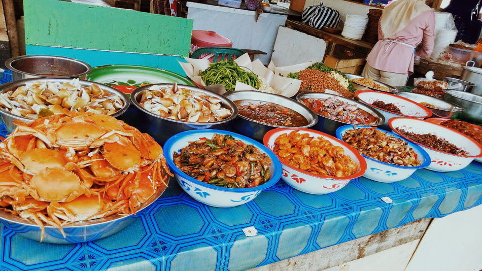 Indonesian Food EyeEm Ready   EyeEm Selects #GoodDay Food Food And Drink Variation Choice Healthy Eating Retail  High Angle View For Sale Market Abundance Dried Food Freshness Market Stall Large Group Of Objects Day Close-up Price Tag Outdoors