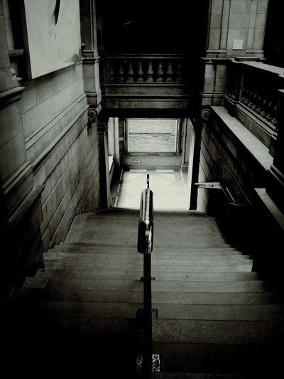 Kelvingrove Blackandwhite Stairs
