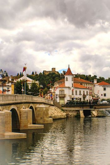 Tomar, Portugal Tomar Tomarcastle Tomar Portugal MedievalTown Medieval Castle Templarios Templars Templars Castle  Bridge River Reflections In The Water Church Travel Travel Photography EyeEm Gallery Learn & Shoot: Leading Lines Learn & Shoot: Balancing Elements Portugal