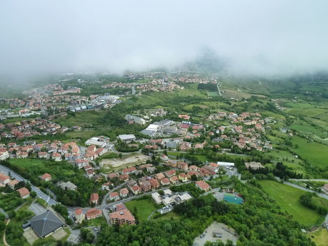 San Marino San Marino Country.... Agriculture Architecture Beauty In Nature Building Exterior Built Structure Day Fog Foggy Day House Landscape Mountain Nature No People Outdoors Patchwork Landscape Rural Scene Scenics Sky Tranquility