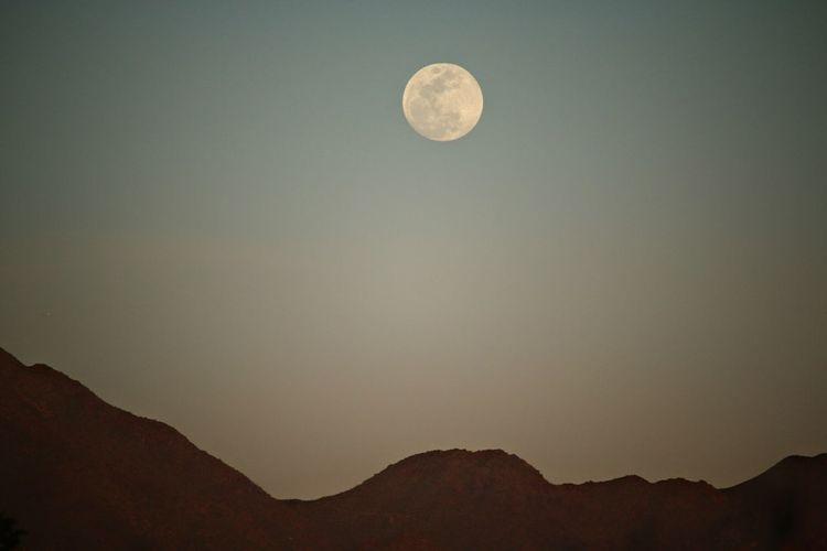 Full Moon Moon Night Sky Moonrise Mountain And Moon Moon Over Mountain Clear Sky Astrophotography Canon