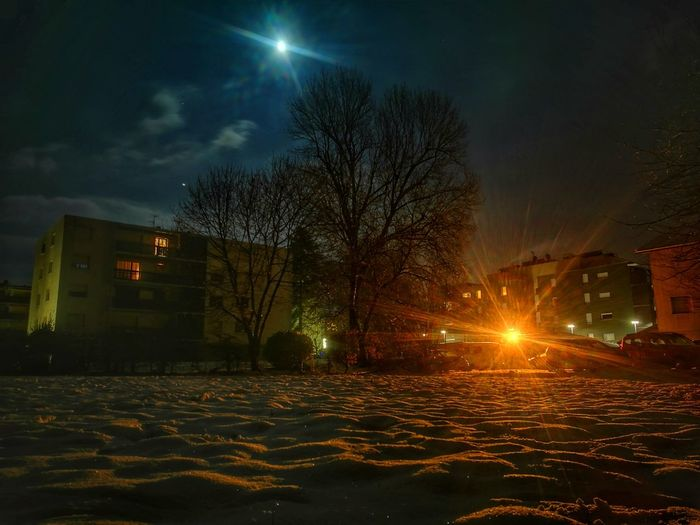 Night Illuminated Outdoors No People Winter Is Coming Snow Astronomy Cold Temperature Beauty In Nature Frozen Winter