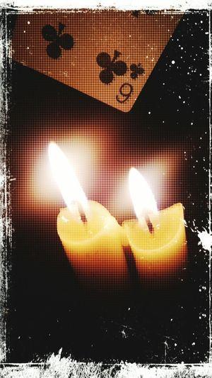 EyeEm Diversity Prespectives BlackMagic Using CardsCloseupshot Illumination Candlelight Indoors  Night Club Card Portrait Nopeople Edited My Way Heat The Week On EyeEm EyeEmNewHere