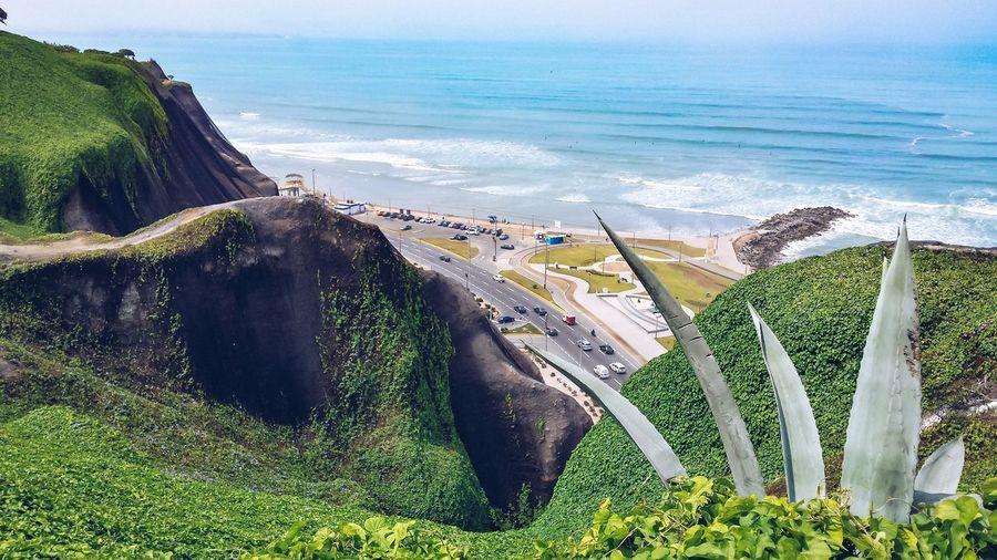 Lima ocean side