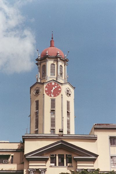 1:32pm Manila City Hall Manila Philippines Architecture Time Building Exterior Clock Built Structure Clock Tower Sky Day Afternoon Film Photography 35mm Film Film Phoptography Film Is Not Dead Unedited Unfiltered Olympus Om1 OM1 Olympus Photowalk
