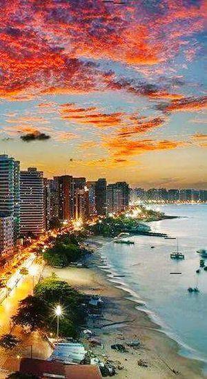 Minha cidade 😍 Meu Ceará 😍 Terra de luz ✌