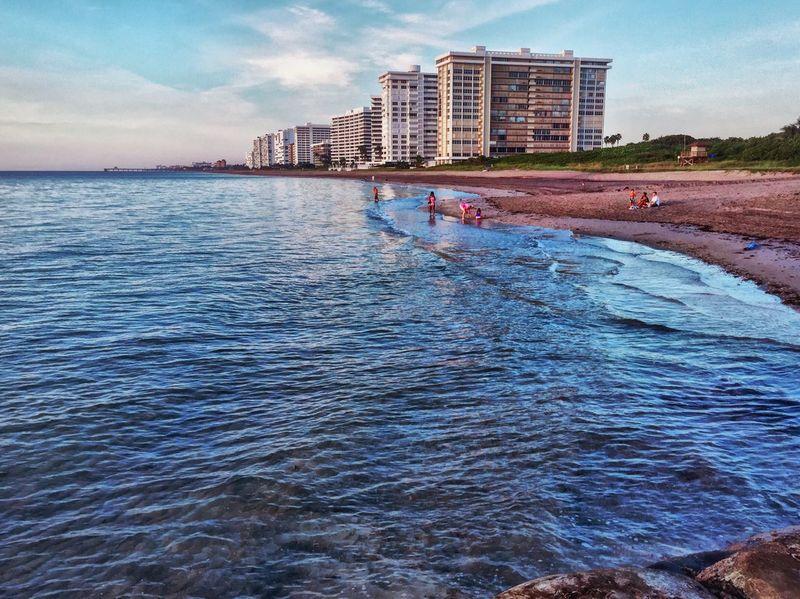 Ocean View Coastline Boca Florida