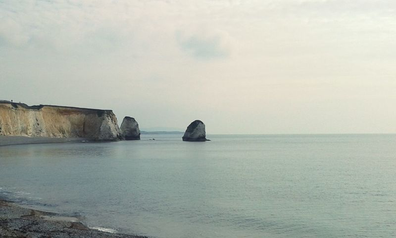 The Great Outdoors With Adobe Erosion Coastline Coastline Landscape Sea Rocks Atmosphere Memories Great Time  Enjoying Life Taking Photos Sand Travel Beach Wether England Ilse Of Wight