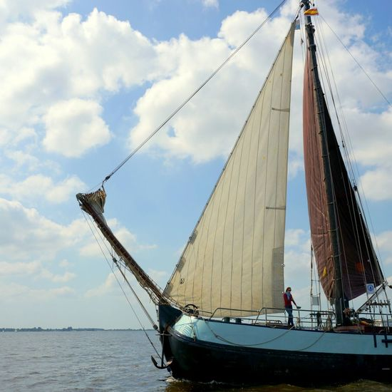 """""""I am sailing stormy waters, to be with you, to be free..."""" Going Sailing The Netherlands Water_collection Summer Eye4photography  Traveling Enjoying Life Sailing"""